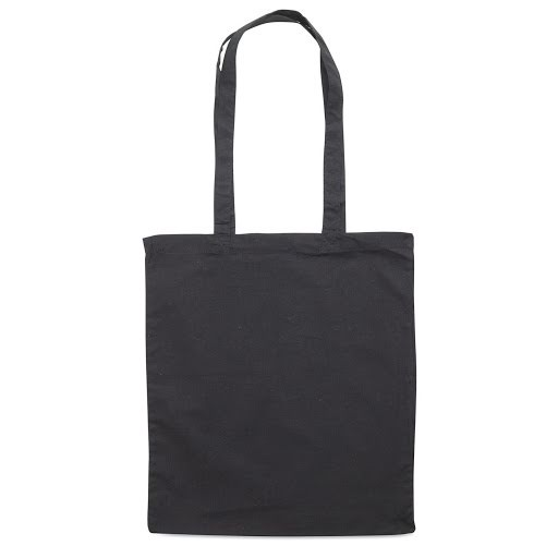 Colour Cotton Shopper Bags to Brand - Red