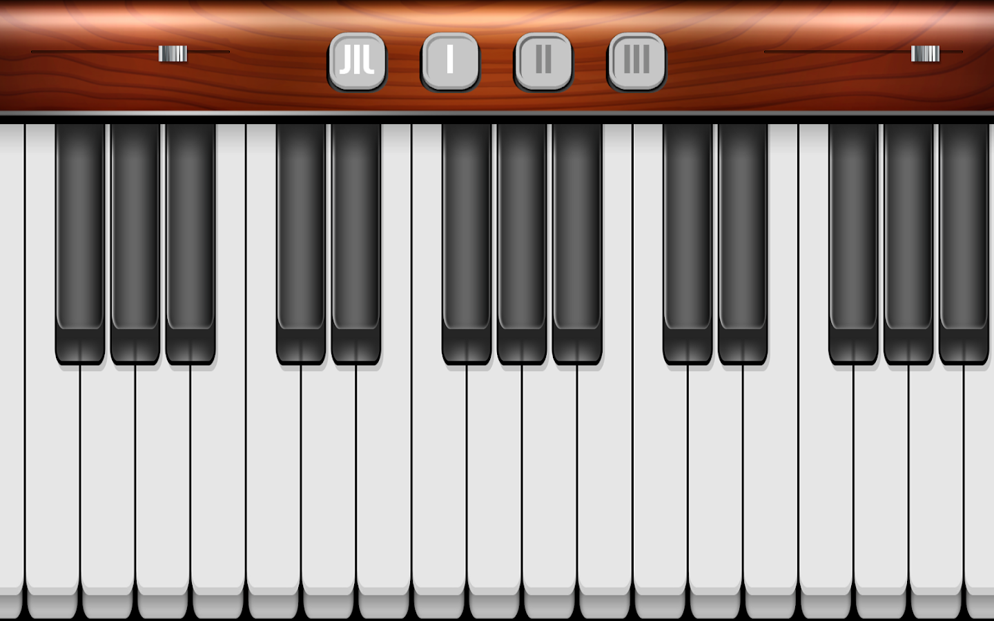 Piano Simulator