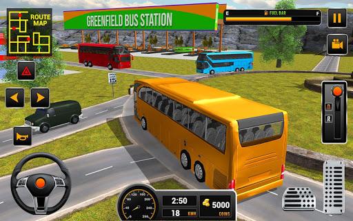 Coach Bus 2018: City Bus Driving Simulator Game 1.0.5 screenshots 1