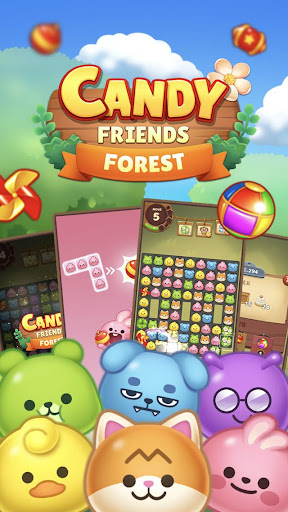 Candy Friends Forest : Match 3 Puzzle 1.1.4 screenshots 3