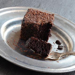 Dark Chocolate Espresso Cake