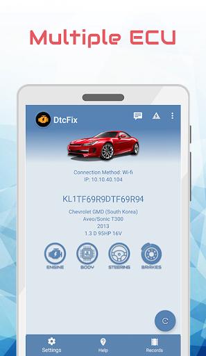 dtcfix - wifi/bluetooth car fault code diagnostic screenshot 3