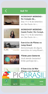 Voll Pilates Group: miniatura da captura de tela