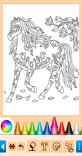 Coloring game for girls and women 13.9.6 screenshots 14