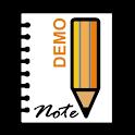 Handwriting Notes DEMO icon