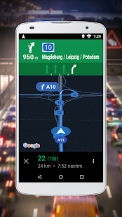 Google Maps Go – Navigation Screenshot