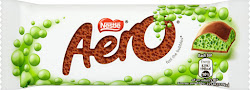 Aero Chocolate Bar - Mint, 36g
