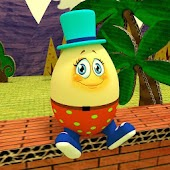Humpty Dumpty 3D Kids Rhyme