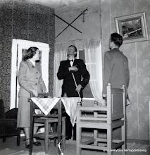 "Photo: Bygdegården 1952 Amatörteater. ""Så tuktas en arbigga"""