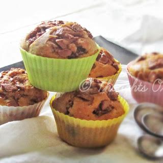 Cherry Cadburry Muffins Recipe