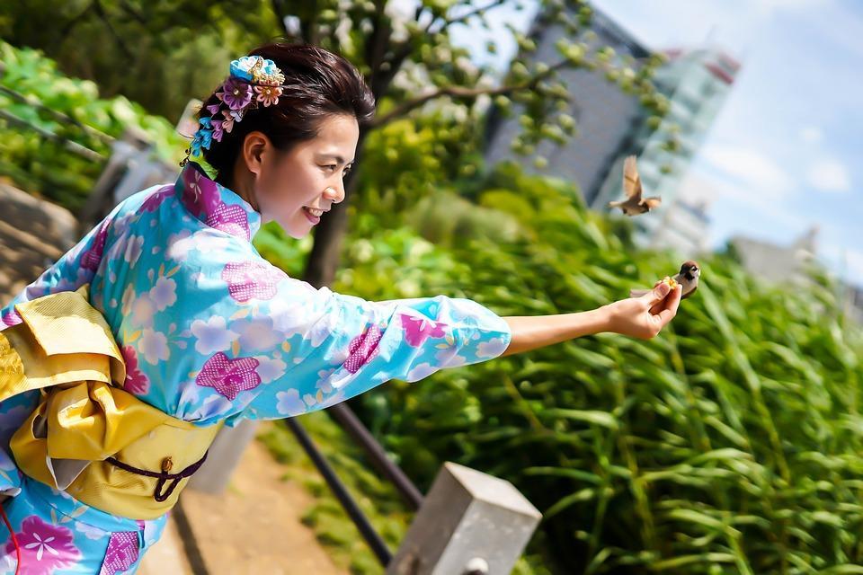 Travel, Asian Women, Kimono