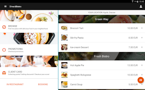 DirectBistro - Food Delivery- screenshot thumbnail