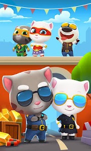 Talking Tom Gold Run v1.1.1.116 Mod