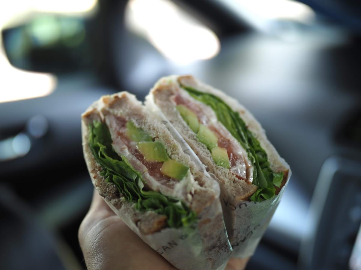 Dean&Delucaのサンドイッチ