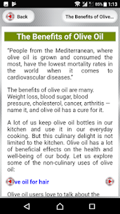 Benefits of Olive Oil for PC-Windows 7,8,10 and Mac apk screenshot 7