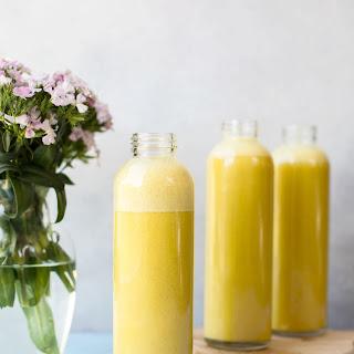 Orange Pineapple Protein Smoothie with Turmeric Powder Recipe