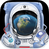 3D Space Walk Astronaut Simulator Shuttle Game