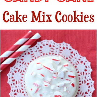 Candy Cane Cake Mix Cookie Recipe!