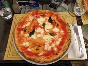 Photo: Naples, pizza napolitaine, bof...