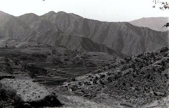 Photo: Tari Sar hill, seen from Chowgam Valley.