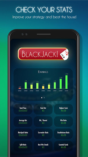 Blackjack! u2660ufe0f Free Black Jack Casino Card Game 1.7.0 screenshots 13