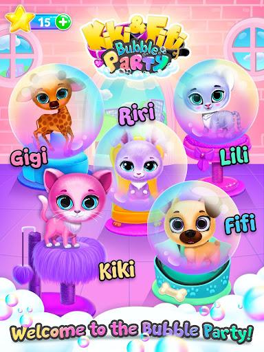 Kiki & Fifi Bubble Party - Fun with Virtual Pets  screenshots 12