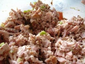 Ham Salad Tea Sandwiches
