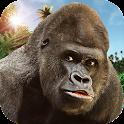 Angry Mad gorilla Wild Attack icon