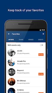 StubHub - Event tickets Screenshot 3