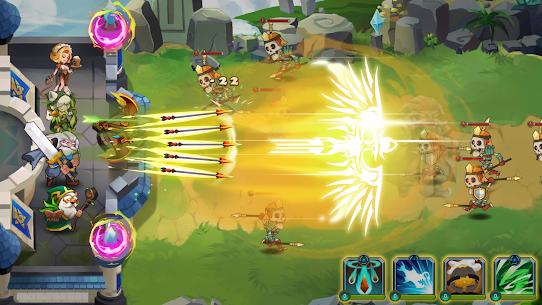 Castle Defender: Hero Idle Defense TD Mod Apk Download For Android 4