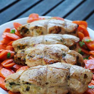 Pistachio & Parsley Stuffed Chicken