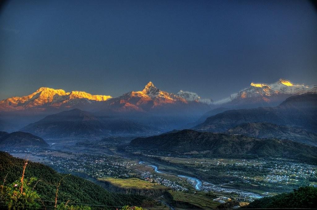 beautiful image  of mountain