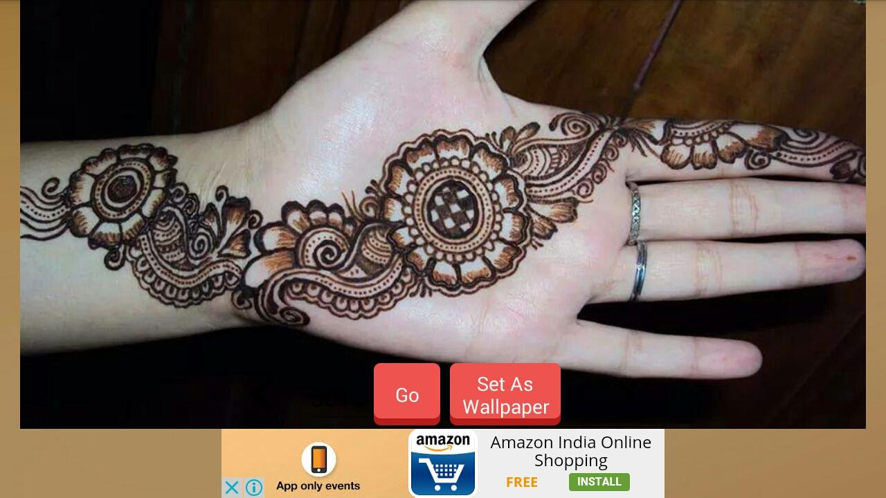 Mehndi design 2017 app download - Latest Mehndi Designs 2017 Screenshot