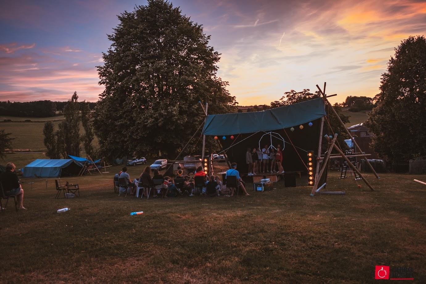 Foto's kamp Voeren