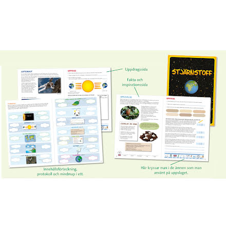 Stjärnstoff - en tematisk miljöbok - 7762-593-3