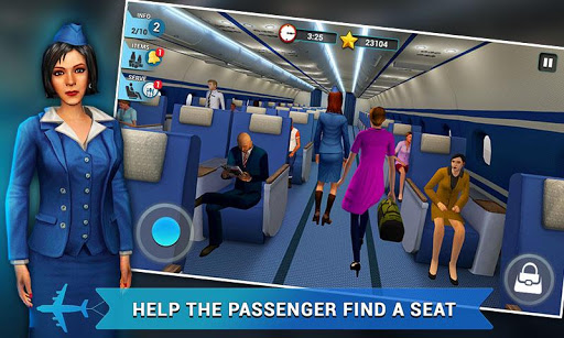Airplane Flight Attendant -Career Job Sim  screenshots EasyGameCheats.pro 2