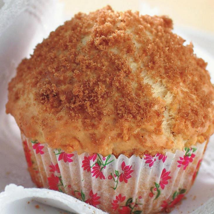Apple and Custard Muffins