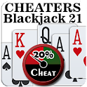 Cheaters Blackjack 21 icon