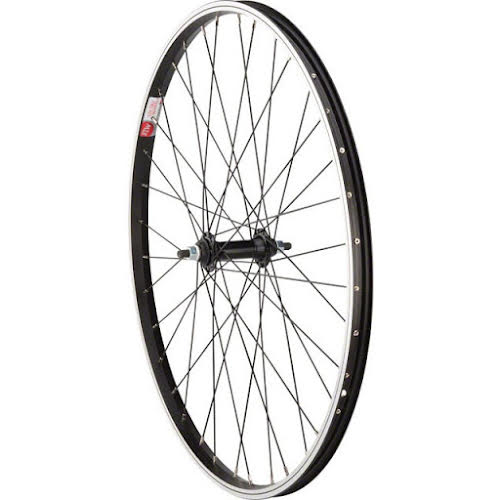 """Sta-Tru Black Front Wheel 26x1.5"""" Solid Axle with 36 Spokes"""