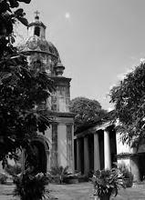 Photo: Bell tower inside Armenian Church - madras