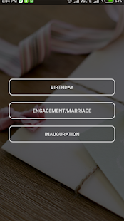 Invitation Card Maker- screenshot thumbnail