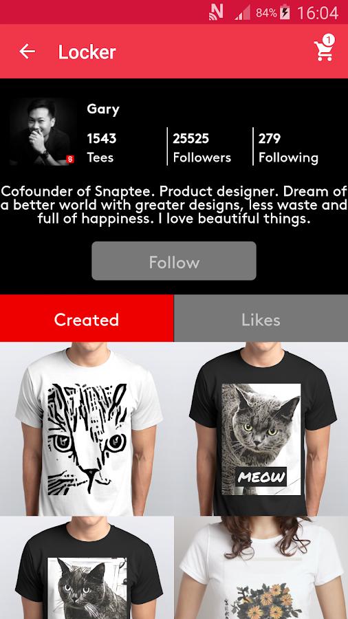 T Shirt Design Snaptee Aplicaciones De Android En