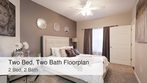 Two Bed Two Bath Floorplan The Park At Nottingham Apartments