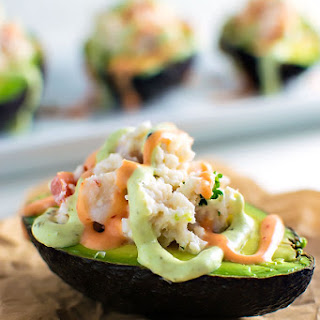 Seafood Stuffed Avocados