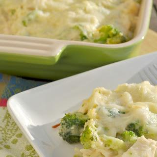 Chicken, Broccoli, and Rice Casserole.