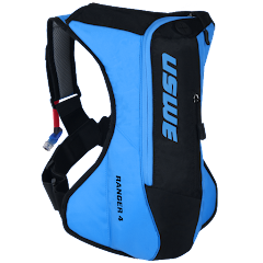 Ranger™ 4L Bounce Free Off-road Hydration Backpack, Blue-Black