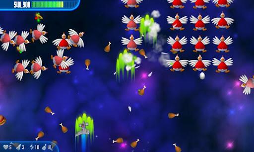 Chicken Invaders 3 HD (Tablet) screenshots 2