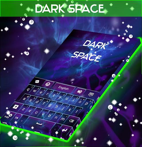 玩免費個人化APP|下載Dark Space Abstract Keyboard app不用錢|硬是要APP