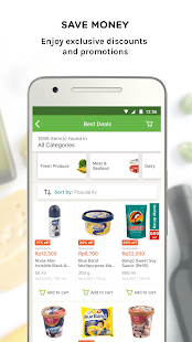 HappyFresh - Grocery Delivery - náhled