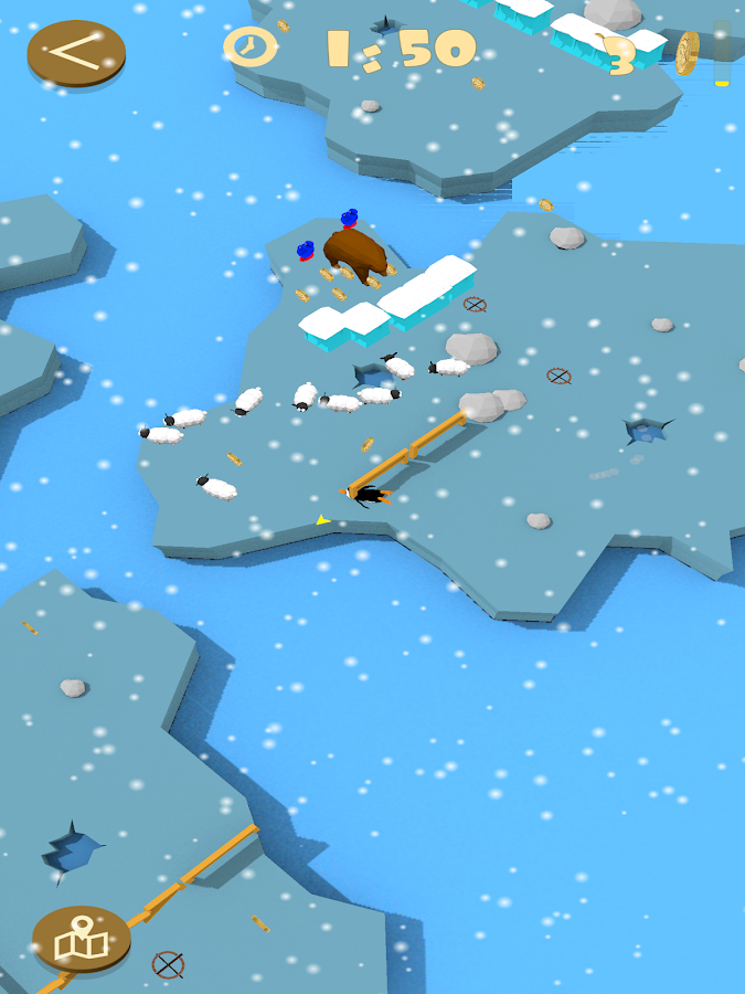 Penguin in Labyrinth 3D- screenshot